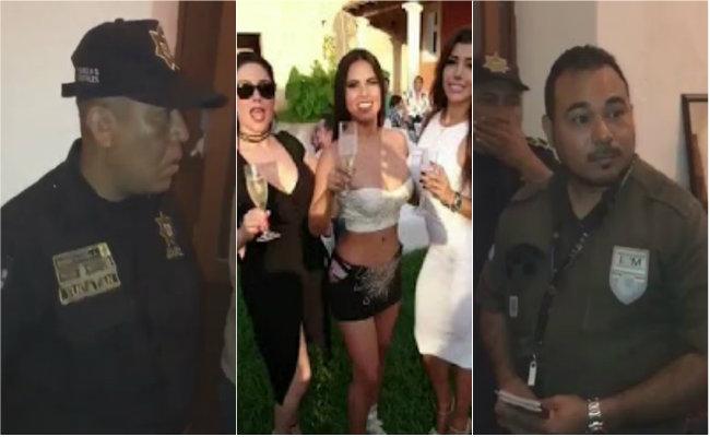 Migración retiene a conejitas de Playboy en Mérida