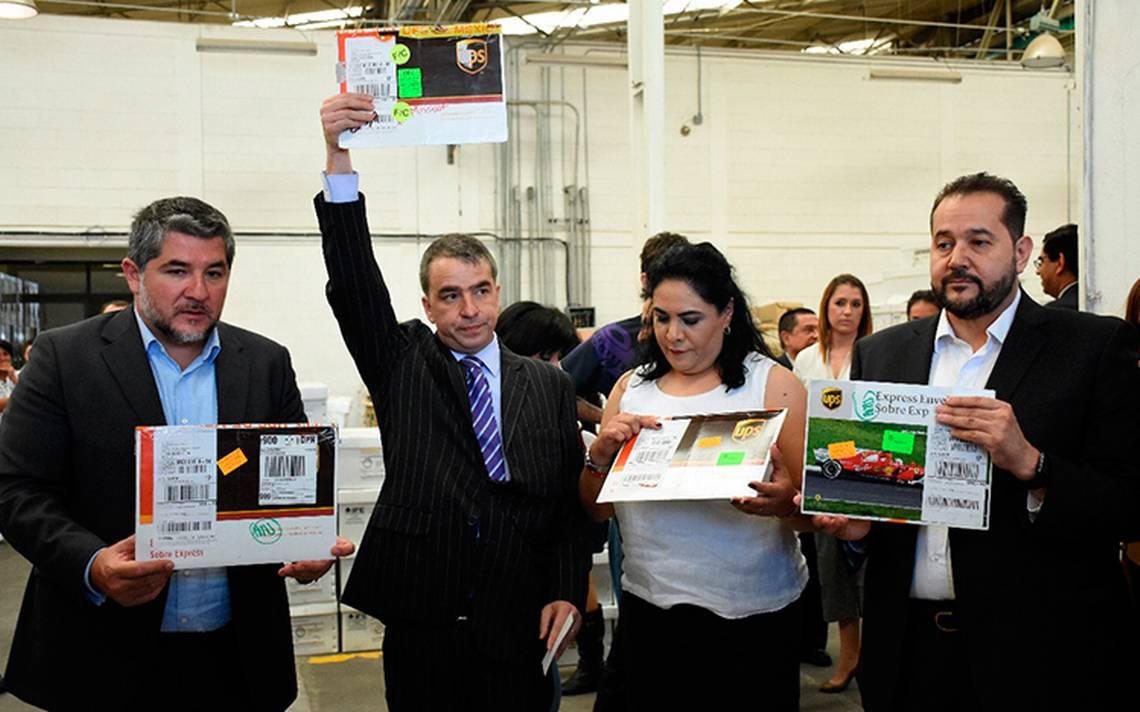 Llegan los primeros votos del extranjero para elegir al jefe de gobierno de la CDMX