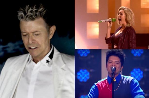 David Bowie, Katy Perry, Bruno Mars y más… en los Brits