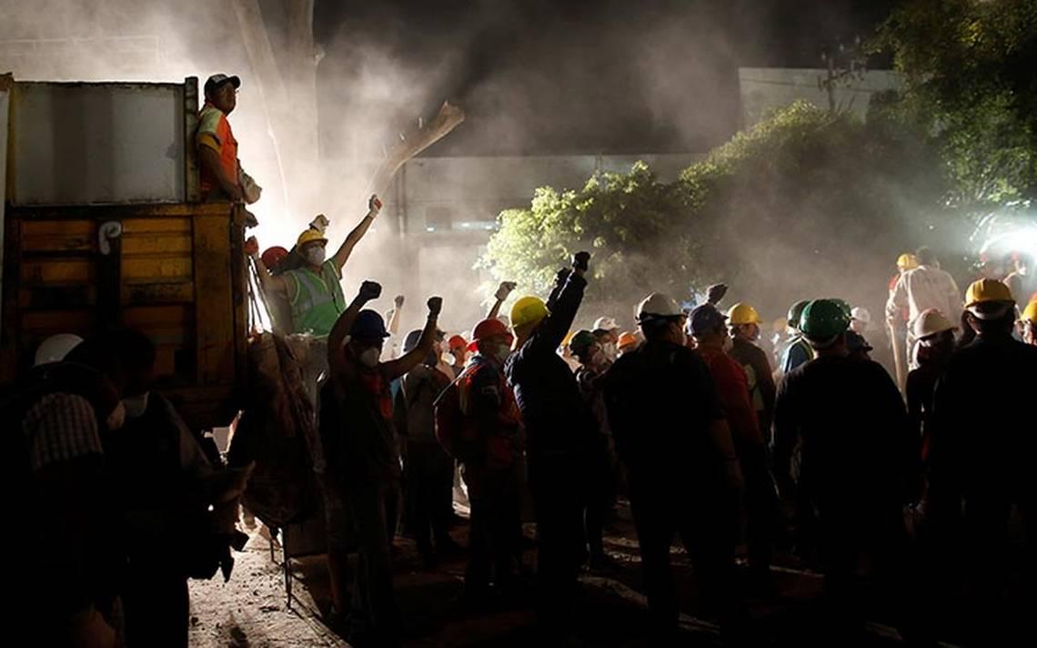 Suman 286 fallecidos por temblor que sacudió a México