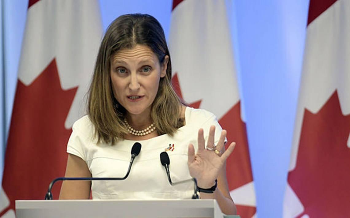 Canadá introduce aranceles a productos de EU por 12,600 millones de dólares