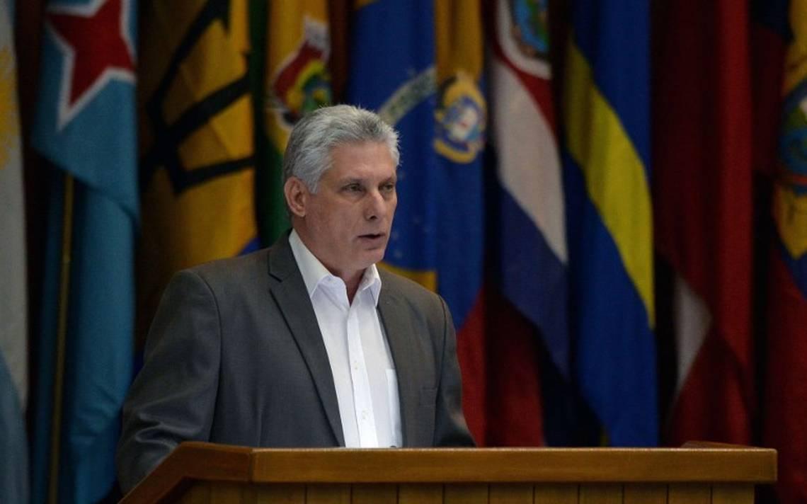 """Cuba no será capitalista"", advierte Díaz-Canel ante reforma de libre mercado"