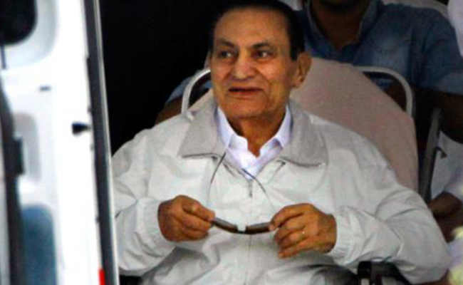 Acepta fiscalía egipcia la puesta en libertad del expresidente Mubarak