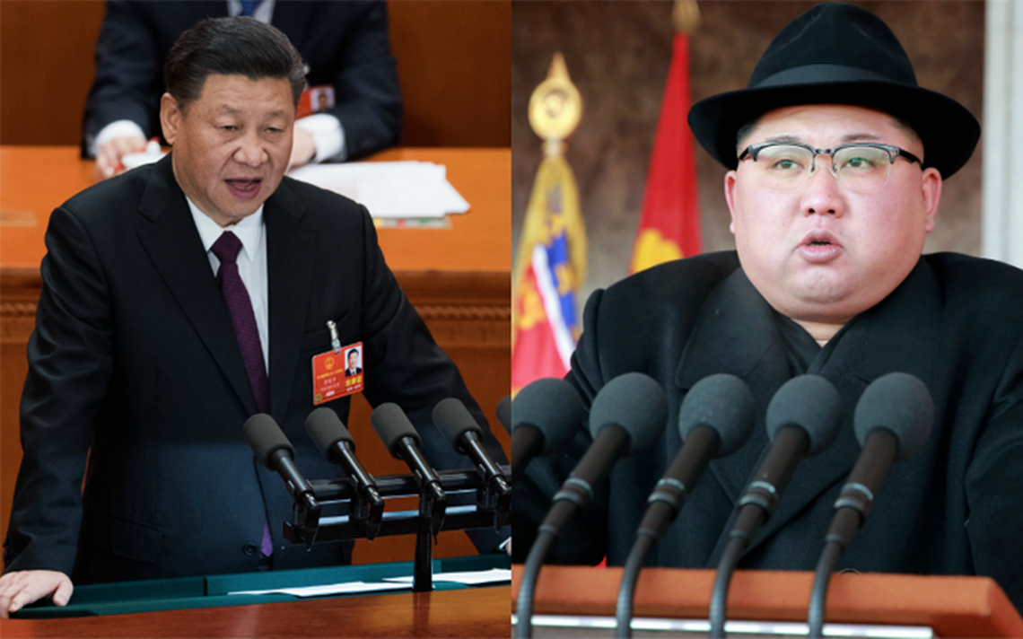 Kim Jong Un y Xi Jinping se reúnen en Beijing