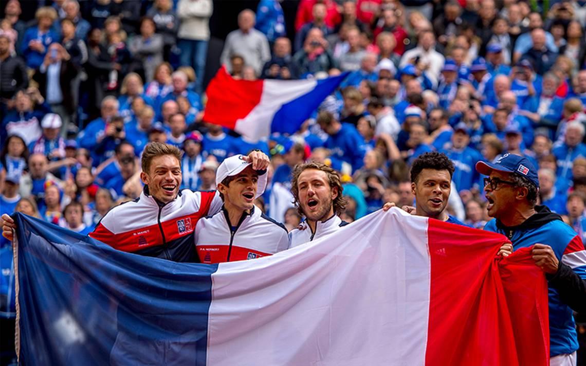 El equipo de tenis de Francia recibirá a Bélgica en la Copa Davis