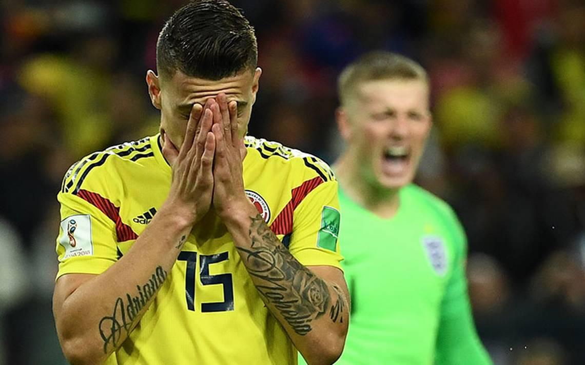 En dramático juego, Colombia dice adiós al Mundial y avanza Inglaterra en penaltis
