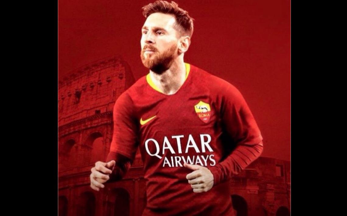 """La Roma no se rinde y """"ficha"""" a Messi"""