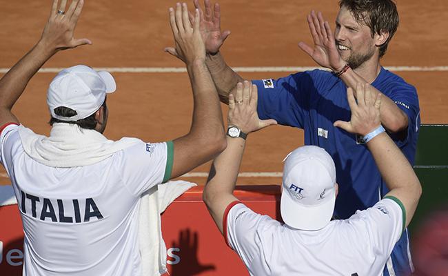 Argentina cerca de la eliminación en la Copa Davis