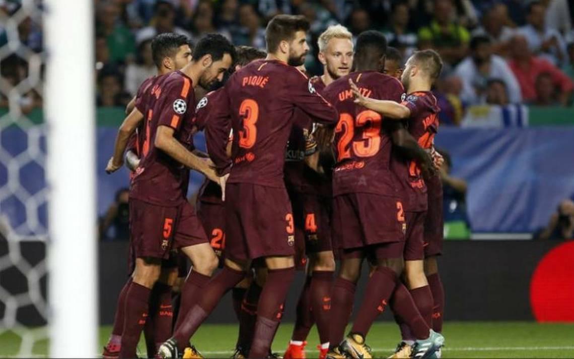 En un complicado partido Barcelona doblega al Sporting