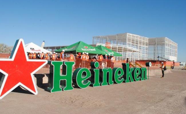 Planta cervecera Heineken al 60% de su construcción en Chihuahua