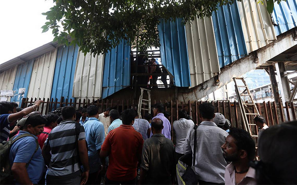 Al menos 22 muertos y alrededor de 25 heridos por estampida en India