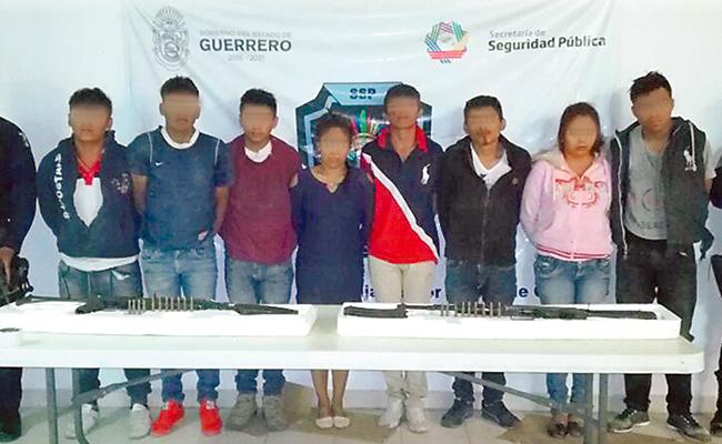 Liberan en Iguala a ocho secuestrados