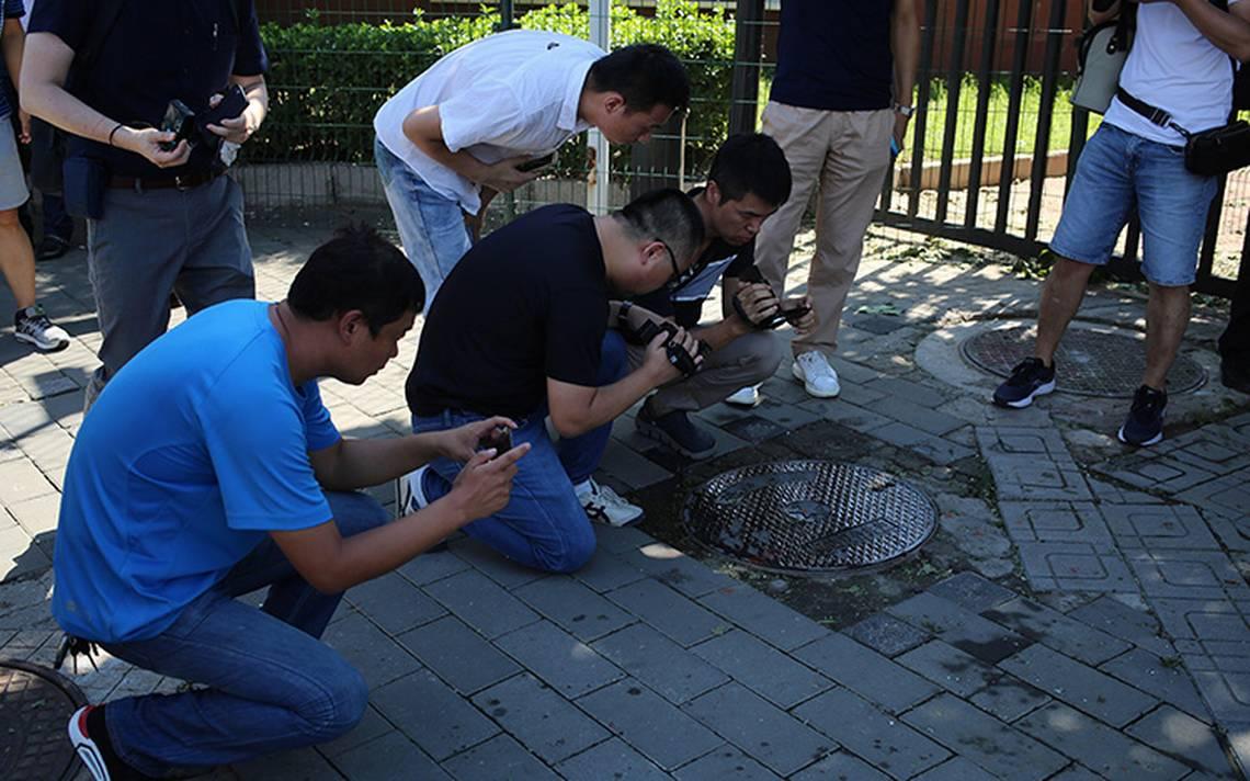 Explosión en la embajada de EU en Pekín deja un herido