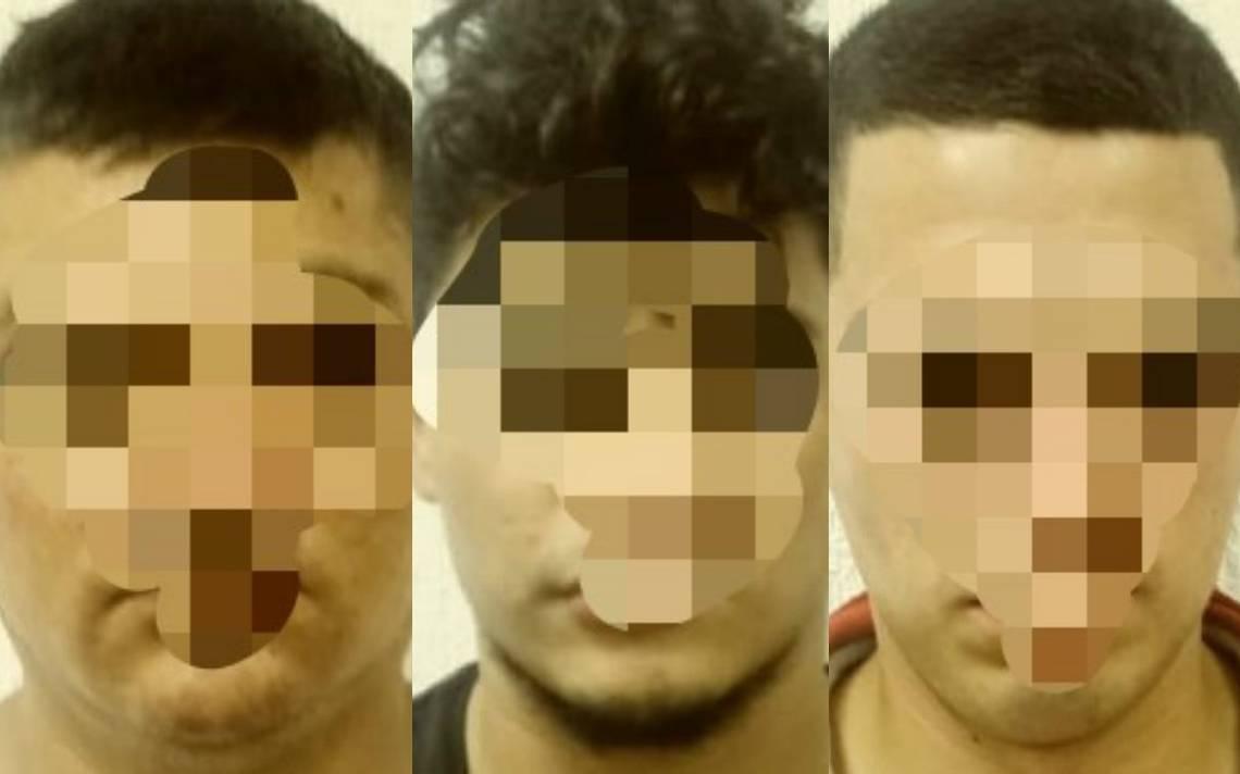 Detienen a tres presuntos miembros del CJNG en Quintana Roo