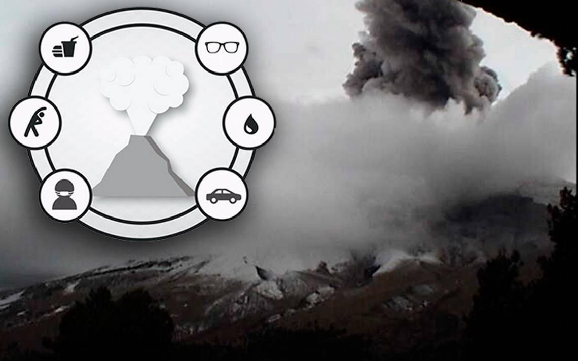 Esto es lo que debes hacer ante la caída de ceniza volcánica
