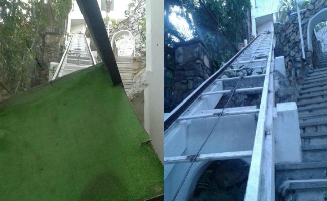 Cae funicular en fraccionamiento de Acapulco; mata a uno