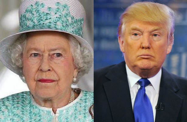 Visita de Trump al Reino Unido pondrá en dificultades a la Reina