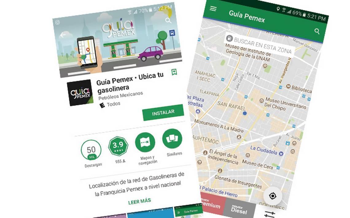 Pemex lanza app para conocer el precios de los combustibles