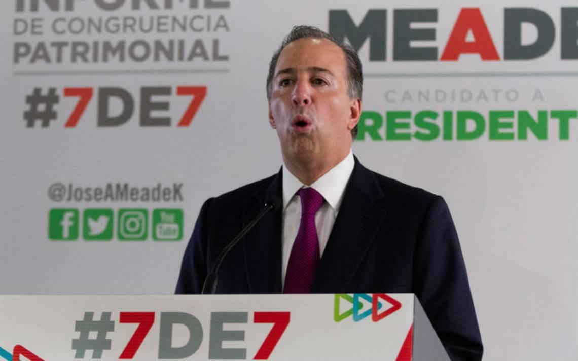Meade: Hay quienes insisten en mandar al carajo a las instituciones