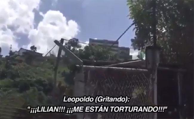 """""""Me están torturando"""", grita Leopoldo López desde cárcel en Venezuela"""