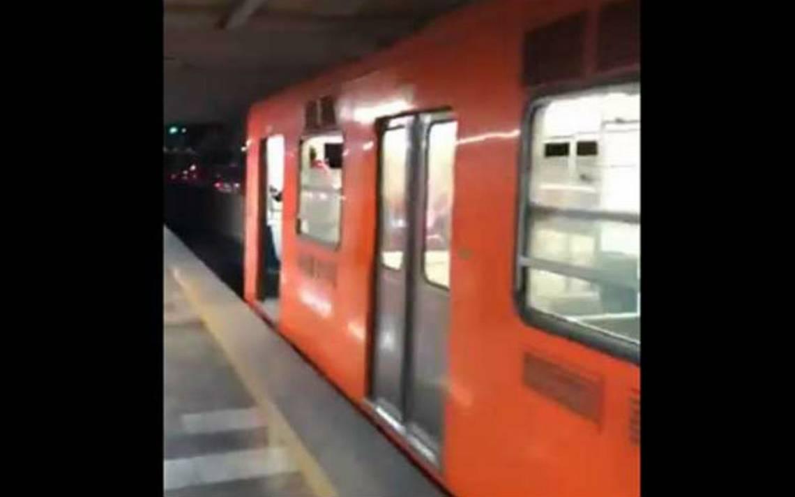 [Video] Se desprenden tres vagones del convoy en la Línea 5 del Metro