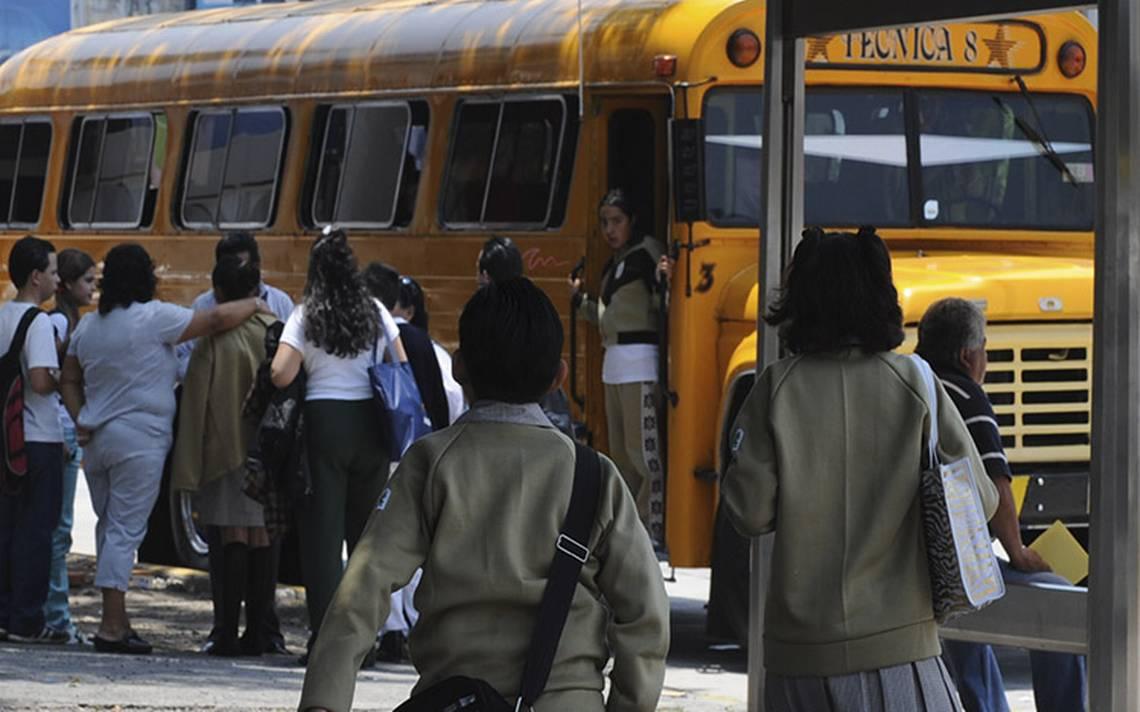 Operativo de seguridad sancionará al transporte escolar, conoce las causas