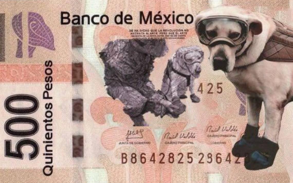 Memes cambian la imagen del nuevo billete de 500