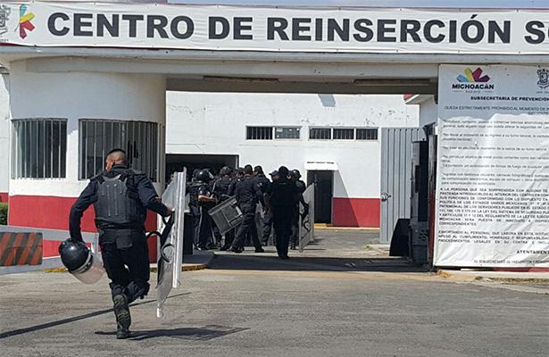 Motín en Cereso de Zamora por el control del lugar