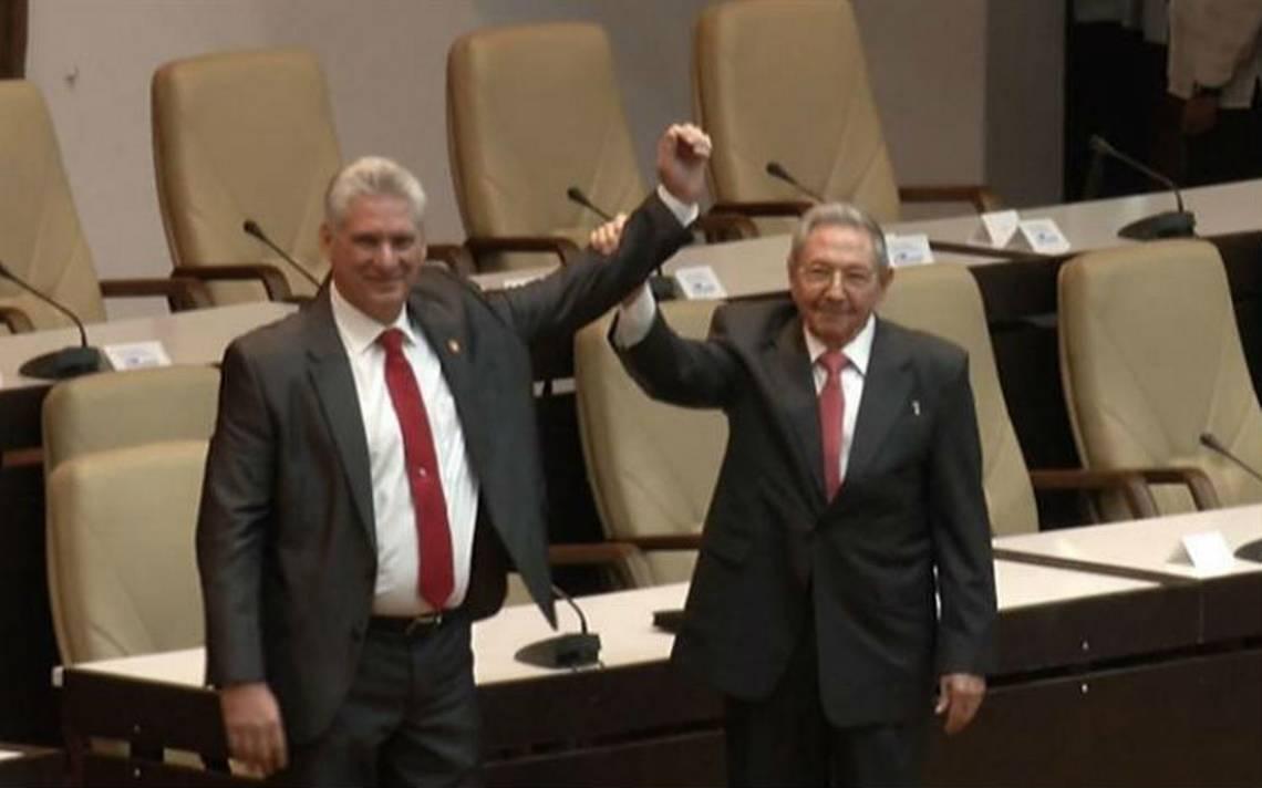 Peña Nieto desea éxito a Manuel Díaz-Canel como nuevo presidente de Cuba