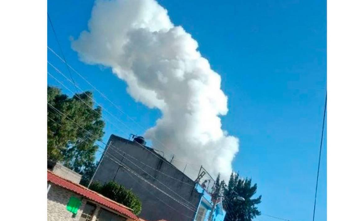 [Video] Otra vez se registra explosión de pirotecnia en Tultepec; número de muertos va en ascenso