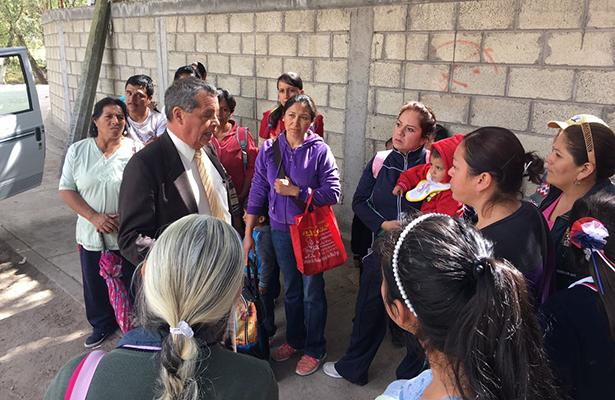 Padres de familia de Hidalgo se oponen a gasoducto