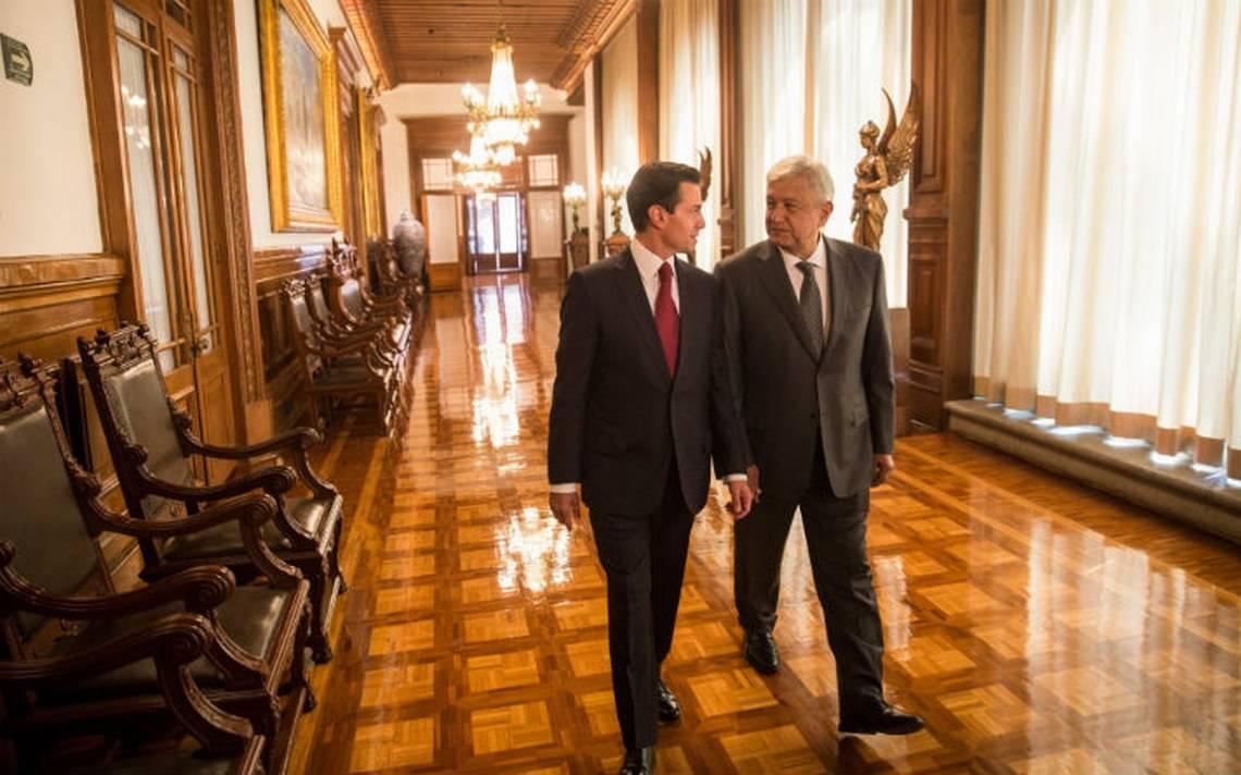 [Video] Así fue la primera reunión de López Obrador con Peña Nieto en Palacio Nacional