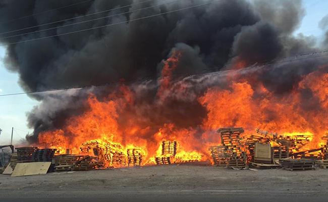 Quema de pastizal en Irapuato se convierte en infierno