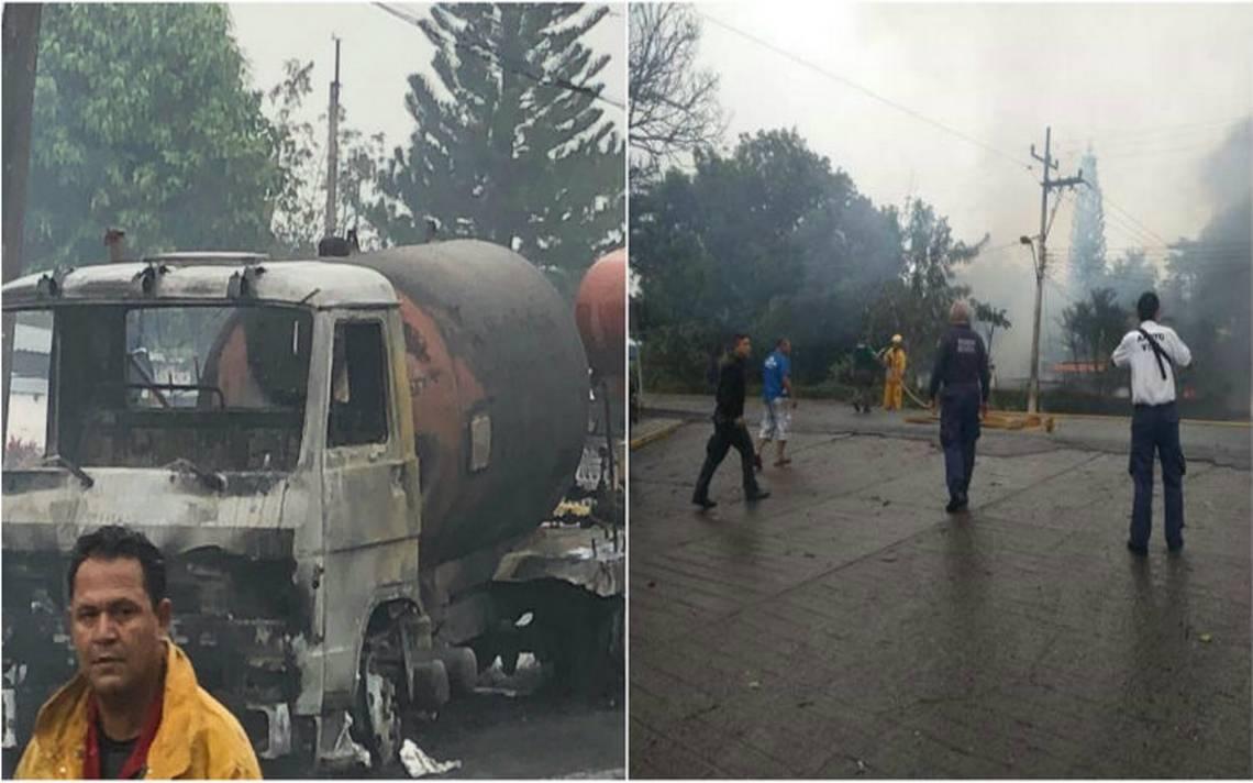 Explosión de pipa daña al menos cinco casas y deja varios heridos