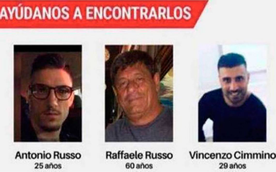 Familiares de italianos desaparecidos, dispuestos a iniciar búsqueda en México