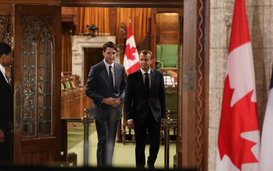 """Trump reacciona contra Trudeau y Macron por """"aranceles masivos"""""""