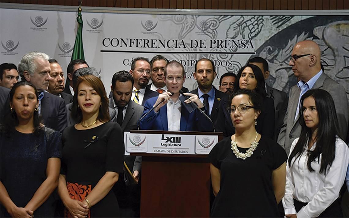 Frente Ciudadano por México acepta donar a damnificados