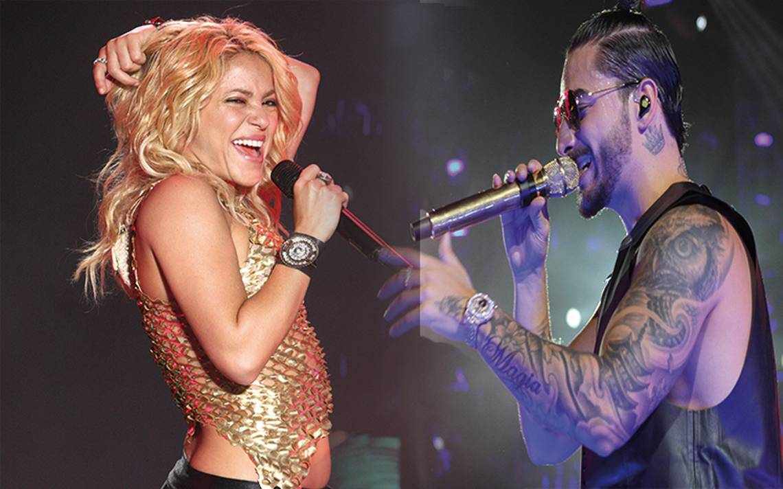 Shakira y Maluma disputan premios