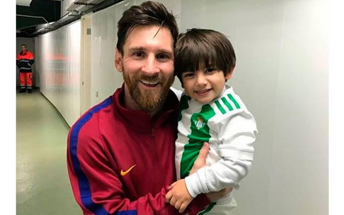 ¡Sueño cumplido! Así fue el encuentro del hijo de Andrés Guardado con Messi