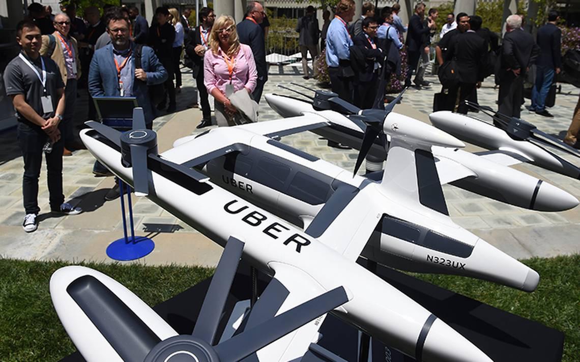 Uber presenta prototipo de taxis voladores; primera demostración será en 2020