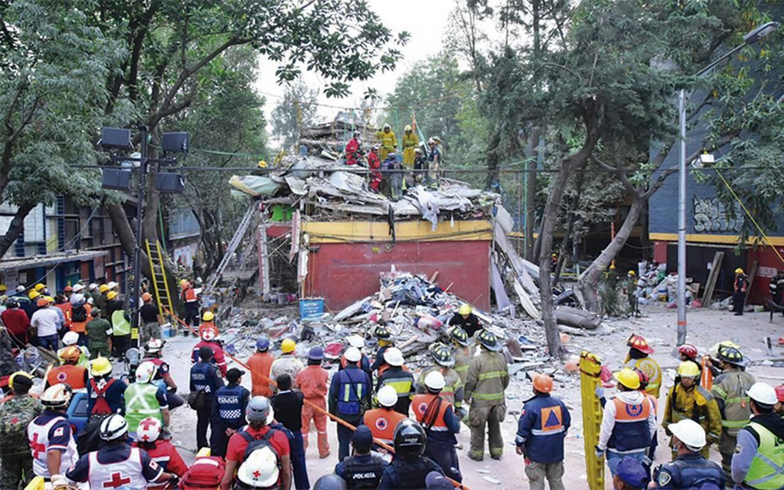Suman ya 338 muertos en el país por sismo del 19 de septiembre
