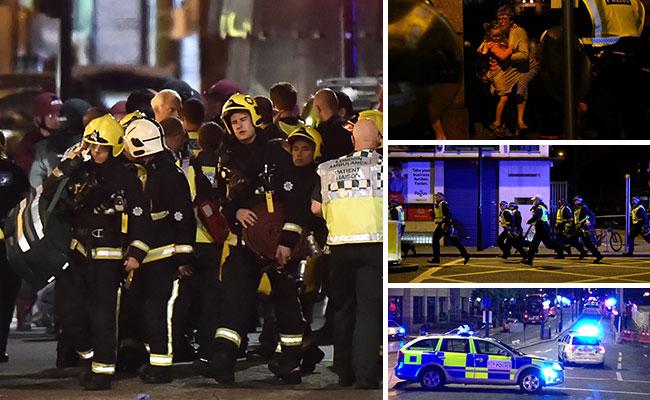 Confirman nueve muertos en doble atentado de Londres, entre ellos tres atacantes