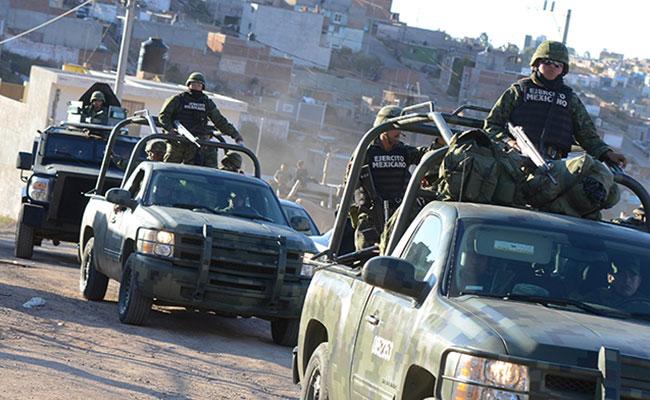 Ejército mexicano, en regiones estratégicas para combatir al narco