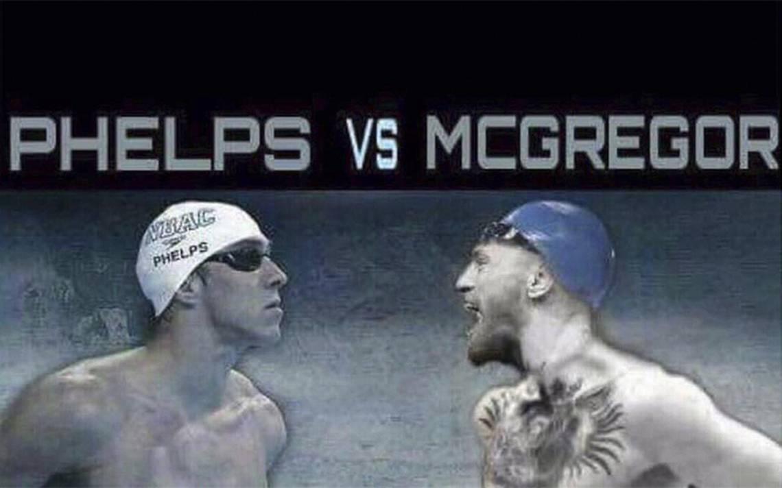 Phelps también quiere darle una paliza bajo el agua a McGregor