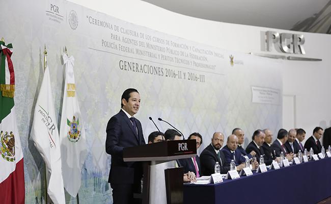 Aplicación de la ley es el sustento para la gobernabilidad: Pancho Domínguez