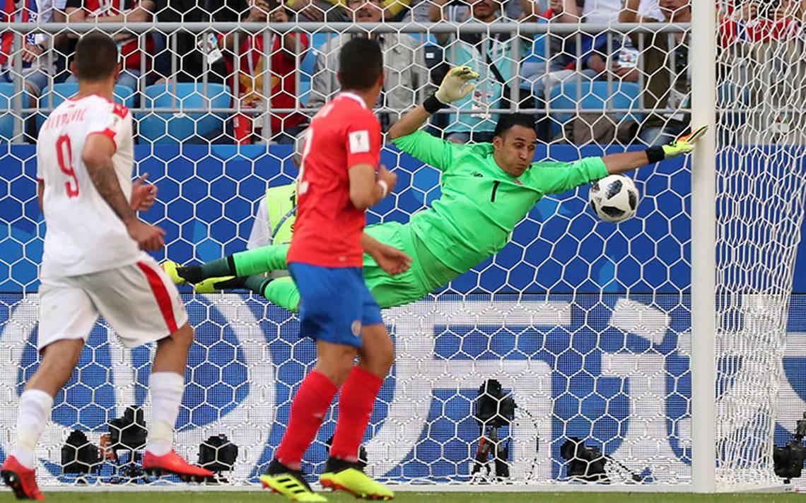Keylor Navas evitó una derrota más abultada de Costa Rica ante Serbia