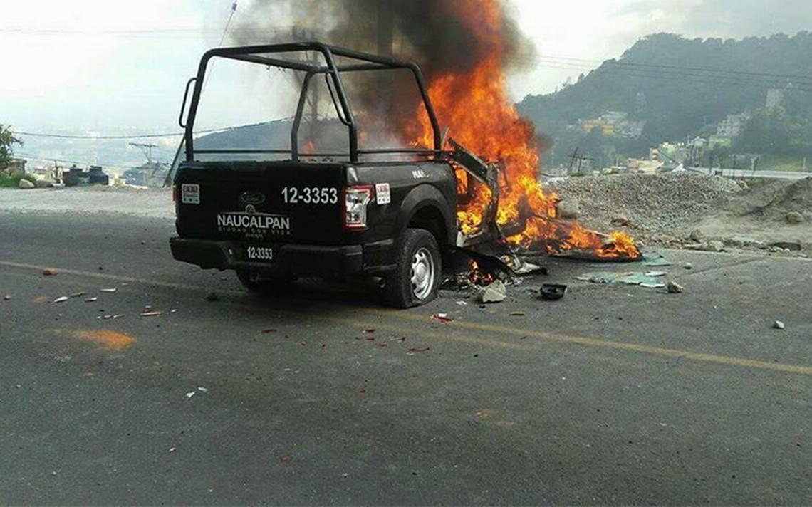 Enfrentamiento en Naucalpan por detención de presuntos secuestradores