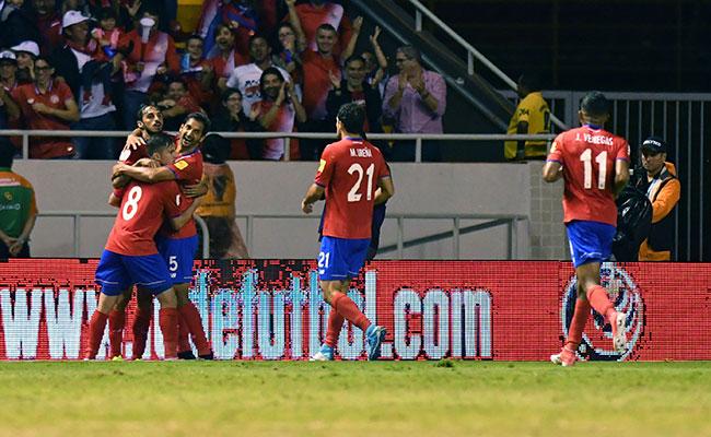 Costa Rica, sublider tras vencer a Trinidad y Tobago