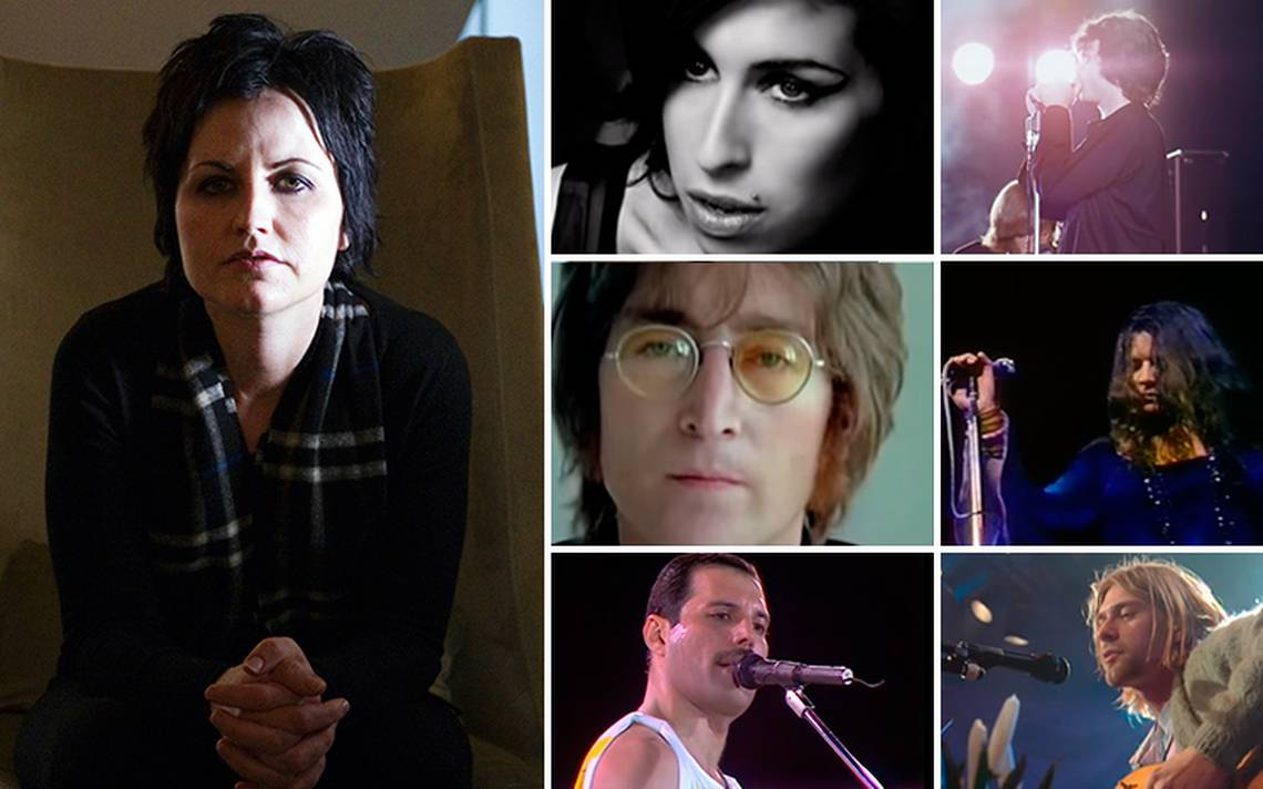 Dolores O'Riordan, la asombrosa voz que se une a las repentinas muertes del rock