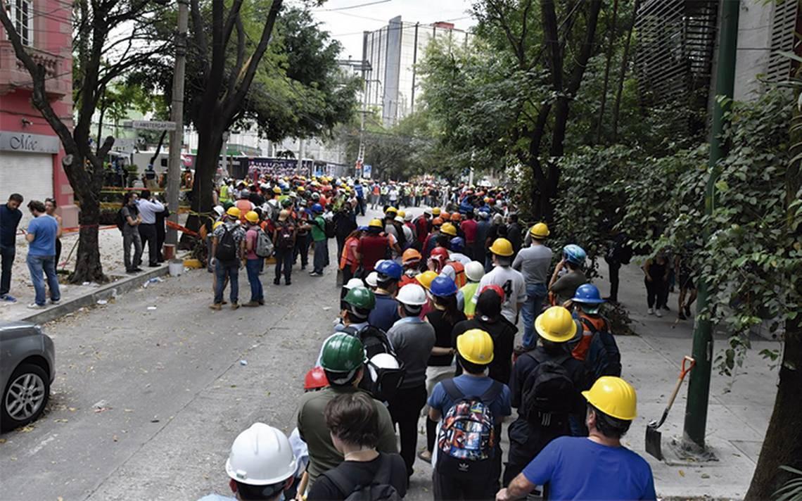 El Plaza Condesa, con secuelas tras el sismo que sacudió la ciudad